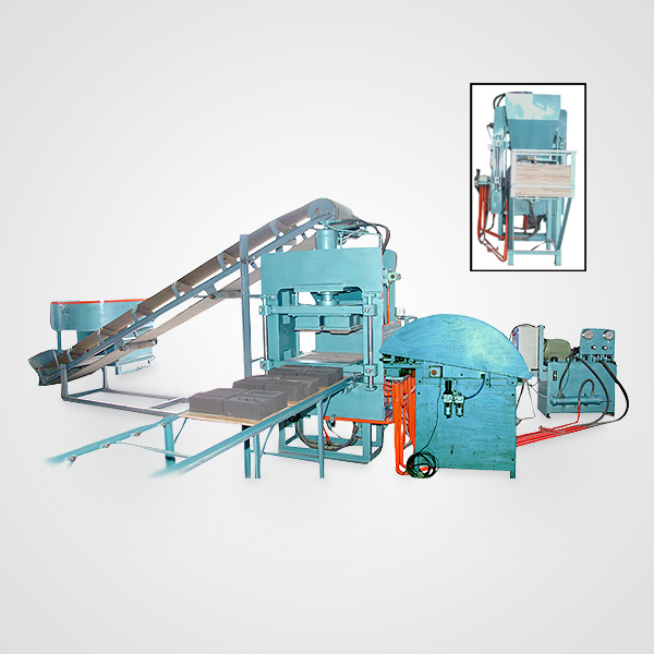 Semi Automatic Fly-ASH Bricks Machine